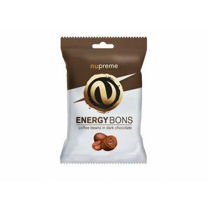 Nupreme Energy Bons tmavé (kávové zrná v horkej čokoláde) 70 g