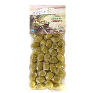 Imperial olives Zelené s jalapeno 250 g