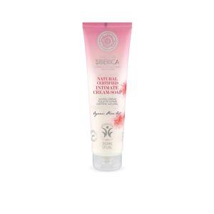 Natura siberica Krémové mydlo pre intímnu hygienu 140 ml