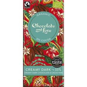 Chocolate and Love Creamy Dark 55% BIO 80 g