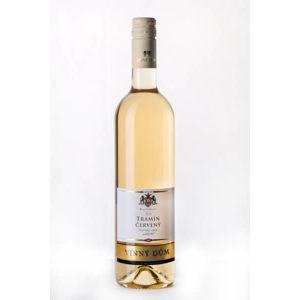 Vínny dom Tramín červený 2016 biele víno polosuché s prívlastkom 750 ml
