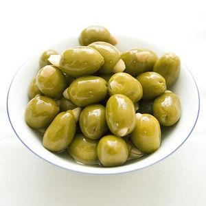 Hermes Zelené olivy s mandľou 190g
