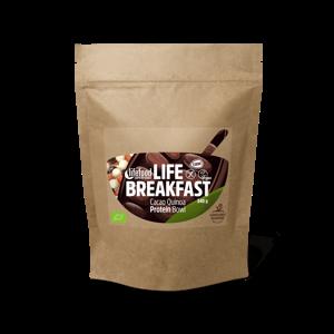 Lifefood Life Breakfast Kakaová proteínová kaša s quinou a škoricou BIO RAW 270 g