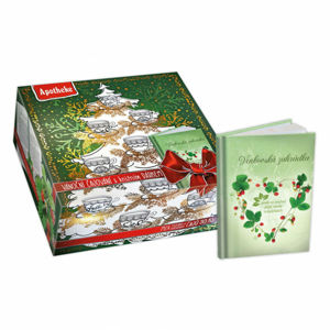 Apotheke Darčeková kazeta vianočné čajovanie s knižným prekvapením 90 ks s herbárom