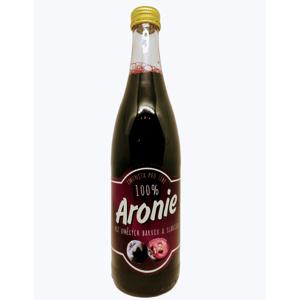 Arónie Šťava z arónie 100% 490 ml