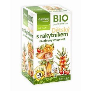 Apotheke Detský bylinný čaj s rakytníkom BIO 20 vrecúšok