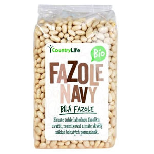 Country Life Fazuľa navy 500 g BIO