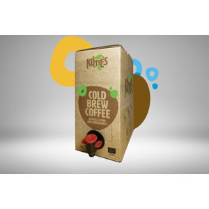 Koties Cold brew coffee BIO 175 ml / 3 l bag in box