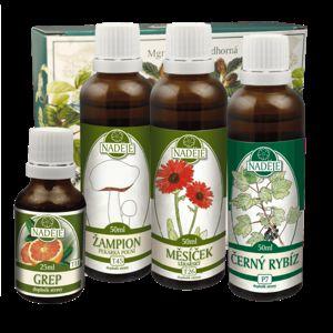 Naděje - Podhorná Doplnok stravy na zmiernenie alergických prejavov pri dýchaní 175 ml