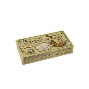 Diamir Paprika grilovaná plnená treskou a krevetami 220 g