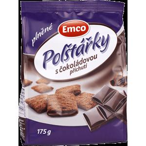Emco Plnené vankúšiky s čokoládovou príchuťou 175 g