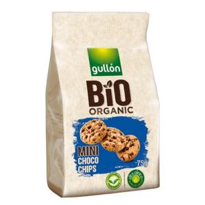 Gullón BIO Mini choco chips sušienky s kúskami čokolády 75 g