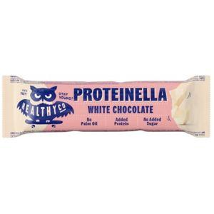 Healthyco Proteinella chocolate bar - biela čokoláda 35 g