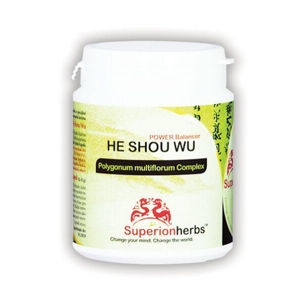 SUPERIONHERBS HE shou WU - Power Balancer 90 kapsúl
