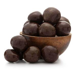 GRIZLY Lyofilizované jahody v horkej belgickej čokoláde 250 g