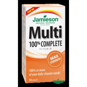 Jamieson Multi COMPLETE Maximálna sila 90 tabliet