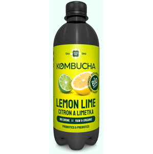 Long life biotea Kombucha citrón limeta 500 ml