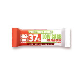 LeGracie PRO-TE (BE) -IN BAR LOW CARB Jahoda 35 g