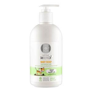 Natura siberica Little siberica Detské krémové mydlo pre každodennú starostlivosť 500 ml