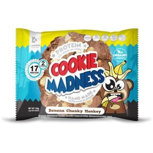Madness Nutrition Cookies Banana Zavalitý Monkey 106 g
