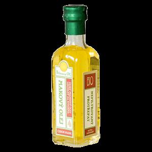 Bohemia olej Makový nefiltrovaný BIO 100 ml LZS a RAW