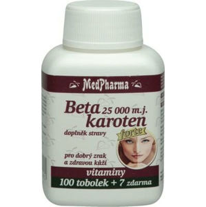 MedPharma Beta karotén 10.000 mj panthenol + PABA 107 tablet
