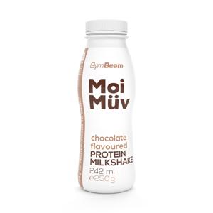 GymBeam MoiMüv Milkshake čokoláda 242 ml