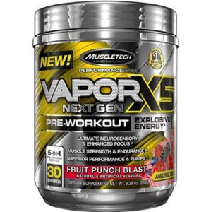 MuscleTech Vapor x5 Next 30 dávok