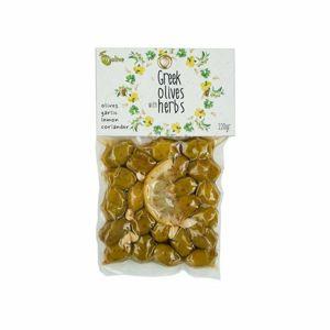 My Olivy marinované olivy cesnak, citrónom a koriandrom 220 g
