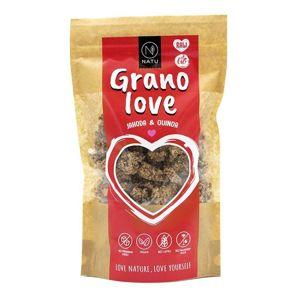 Natu Granolove Jahoda a Quinoa BIO RAW 230 g