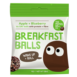 The Proteín ball co Breakfast jablko + čučoriedky 45 g