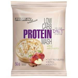 Prom-in New Low Carb Protein Mash jablko / škorica 50 g