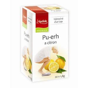 Apotheke Pu-erh a citrón 20 sáčkov