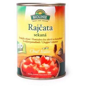 BIOLINIE KONZERVA paradajky sekané sterilizované BIO 400 g