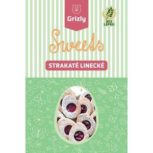 GRIZLY Sweets Zmes na strakaté linecké bez lepku 415 g