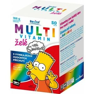 The Simpsons Multivitamín želé 40 ks