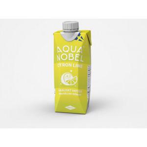 Aqua Nobel Alkalická pramenitá voda Citrón 500 ml