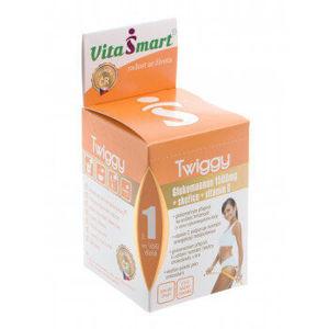 Vitasmart Twiggy glukoman + škorica + vit. C nápoj citrus mix 24 vrecúšok