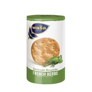 Wasa Delicate Rounds francúzskej bylinky 205 g