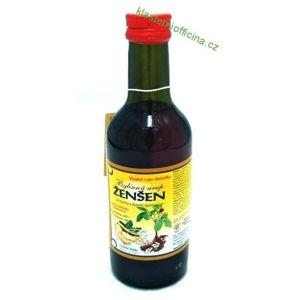Kláštorný Officine Bylinný fruktózový sirup ŽENŠEN 250 ml